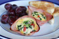 Mini Ham and Egg Cups