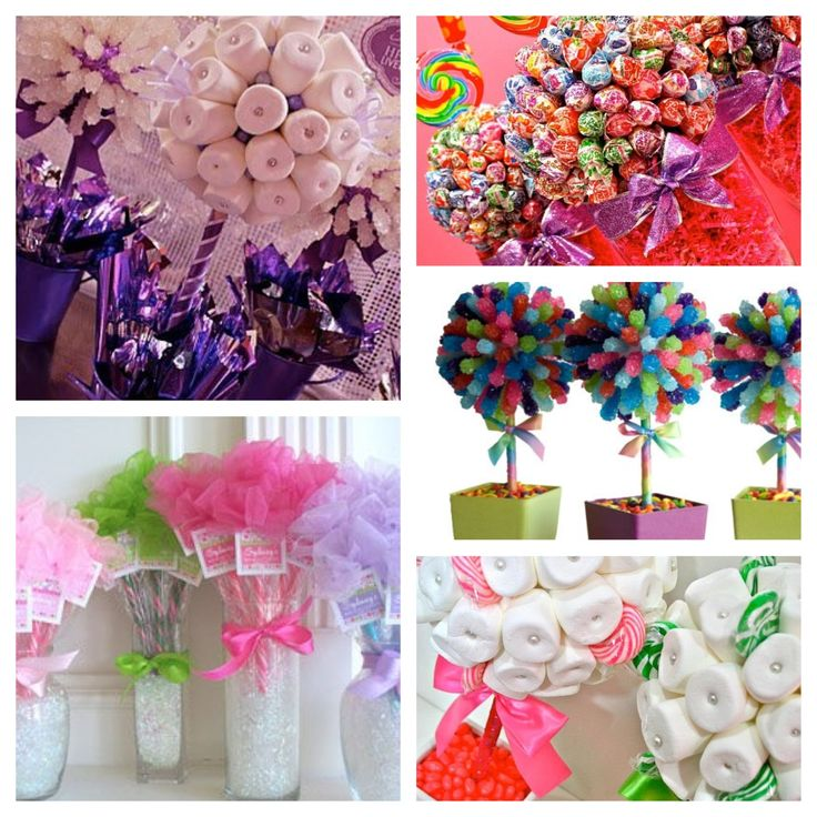 More ideas via Etsy... For Candy Themed Birthday Party
