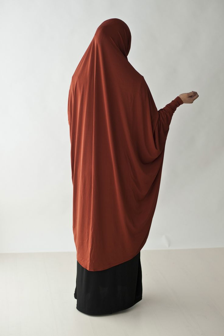Kauthar Khimar With Sleeves Xl