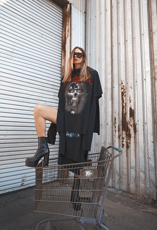 Céline Sunglasses, Vetements Dress & Boots