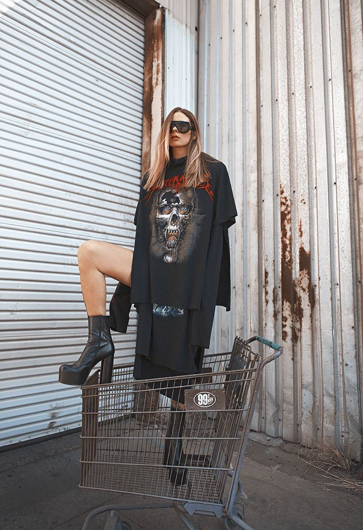 Céline Sunglasses, Vetements Dress & Boots