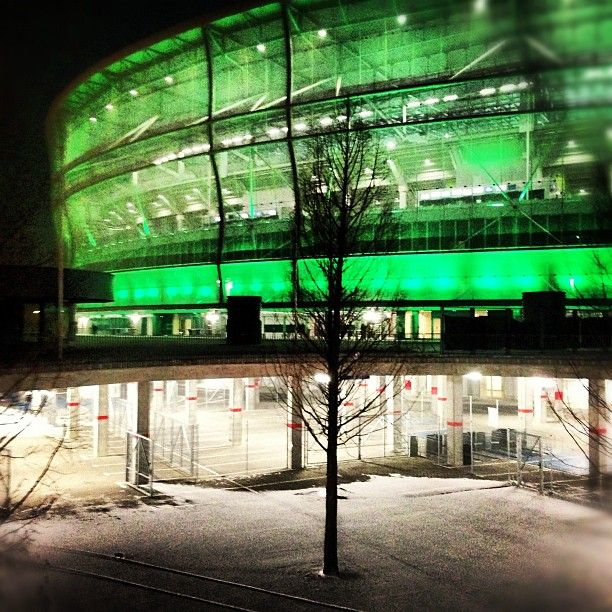 Zimno zielony.