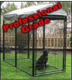Professional grade (Pro Series) powder coated kennel