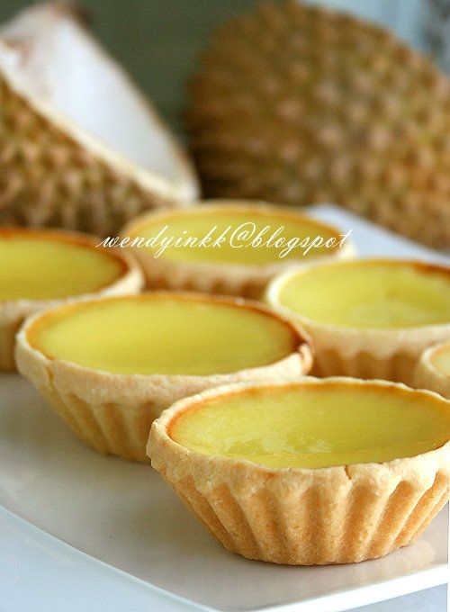 Table for 2.... or more: Durian Egg Tart - MFF Pahang #6