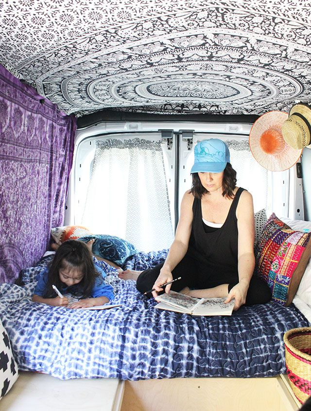 I shared a while back that we bought a van  with the plan to convert it into a camper van for our family adventures.Today I thought it wo...