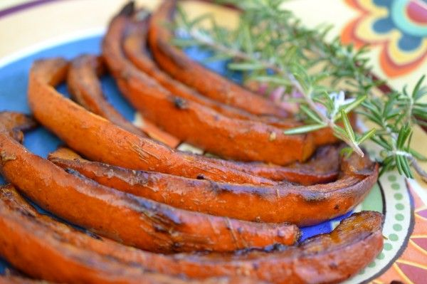 """A simple recipe to bring out the flavors in a red kuri sqash, the """"smiley-faced"""" squash."""
