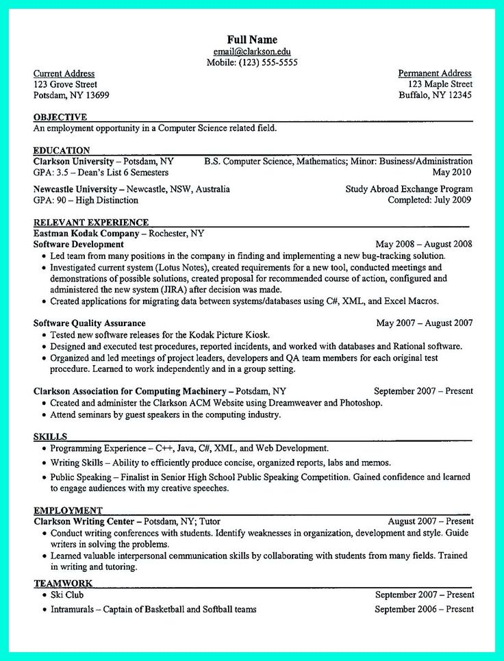 Best 25+ College resume ideas on Pinterest Uvic webmail, Job - live resume