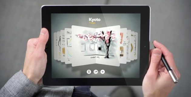 "Paper is a new stunning app for the iPad. It was developed by Fifty Three design studio, they say the app is ""the simplest, most beautiful way to create on the iPad"","