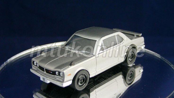 TAKARA SILHOUETTE 8 NISSAN SKYLINE GT-R 1970   C10   1/64   SILVER METALLIC