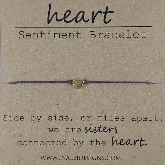 Sister Beaded Bracelet Gift for Sister Sister by InaLeiDesigns