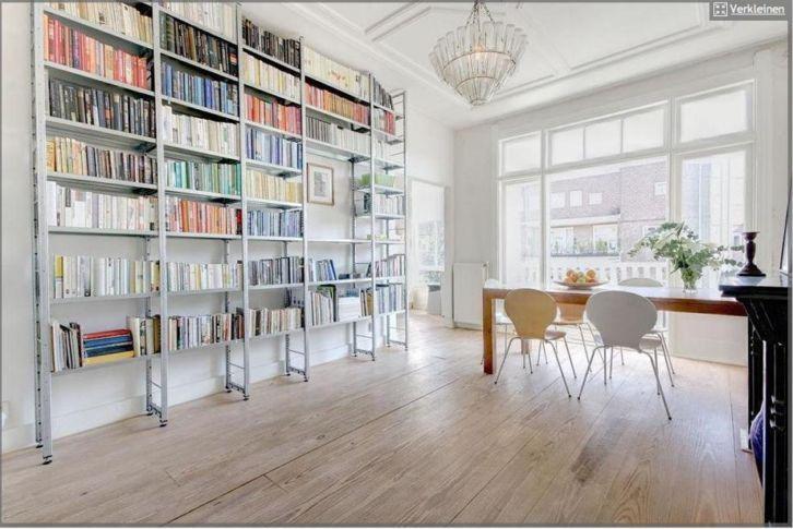 Stellingkast als boekenkast