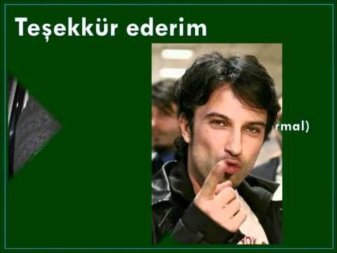 Learning Turkish with Tarkan IV: Common Words & Phrases