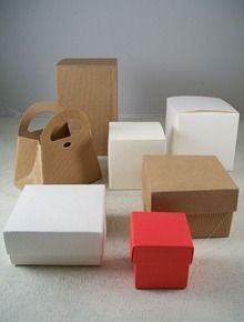 Scatoline di  cartone anche da bomboniera per tutte le cerimonie o ricorrenze. Materiali per wedding planner. Bomboniere homemade