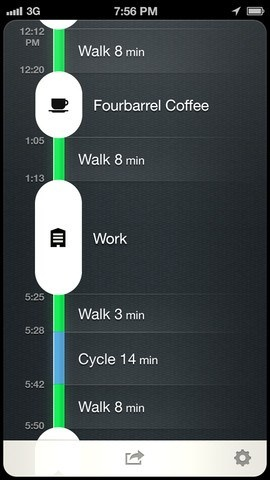 No Fitbit Or Fuelband Necessary. The Moves App Tracks Your Steps From The…