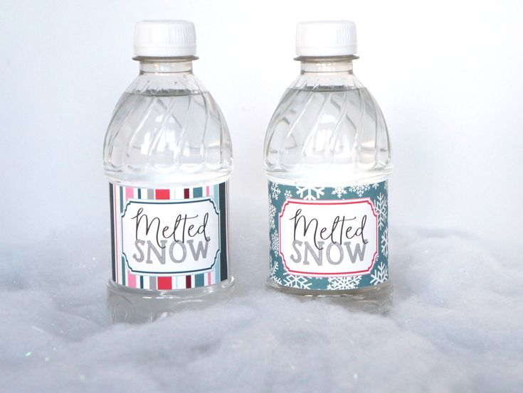 Ice Skating Party Water Bottle Labels, Personalized Water Bottle Label, Water Resistant Label, Ice Princess Party, Skating Party- SET OF 12+ by ConfettiPartyCompany on Etsy