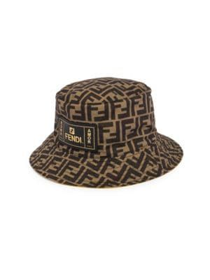 97588dc4a9b FENDI FF Print Packable Bucket Hat.  fendi