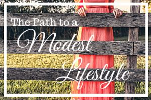 The Path to a Modest Lifestyle Sidebar