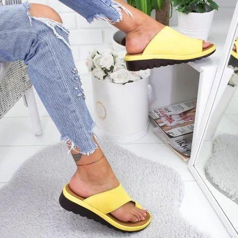 4e247f085 Women Comfy Platform Sandal Shoes - gifthershoes