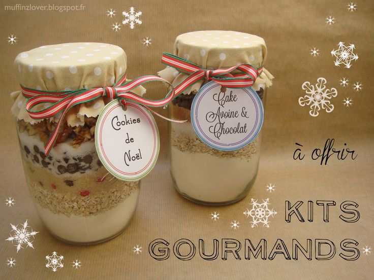 Recette gateau en pot, kit gourmand - muffinzlover.blogspot.fr