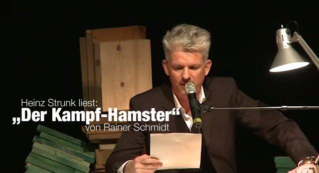 """Heinz Strunk liest: """"Der Kampf-Hamster"""" von Rainer Schmidt (Full Clip)"""