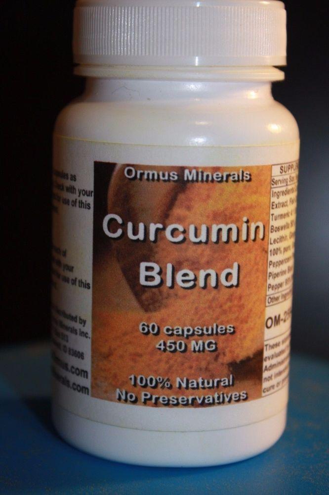 Curcumin Blend 60 Count #OrmusMinerals