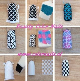 www.colornails.nl Nail Art  Hollow Stickers