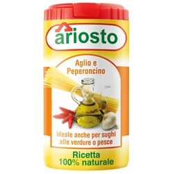 Italian Garlic and Chili Seasoning from Ariosto, 2.8 Ounce (80 Grams) Kitchen Size