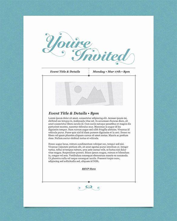 30 Corporate Event Invitation Sample In 2020 Event Invitation