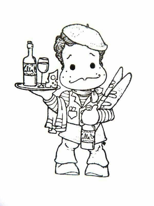 digi stamps colouring markers