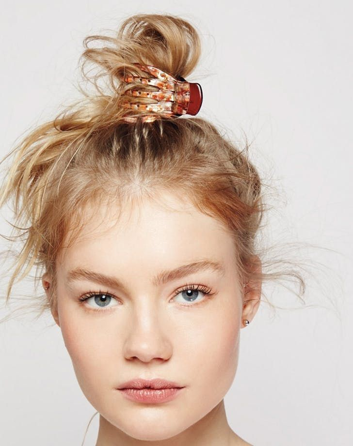7 easy hairstyles to do with a claw clip, #easy hairstyles #fair ...  #hairstyles