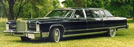 1977 Lincoln Continental Limousine by Hotton
