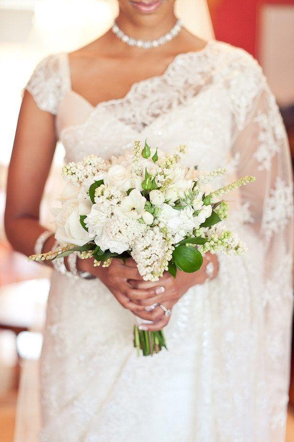 white christian wedding sarees - Google Search