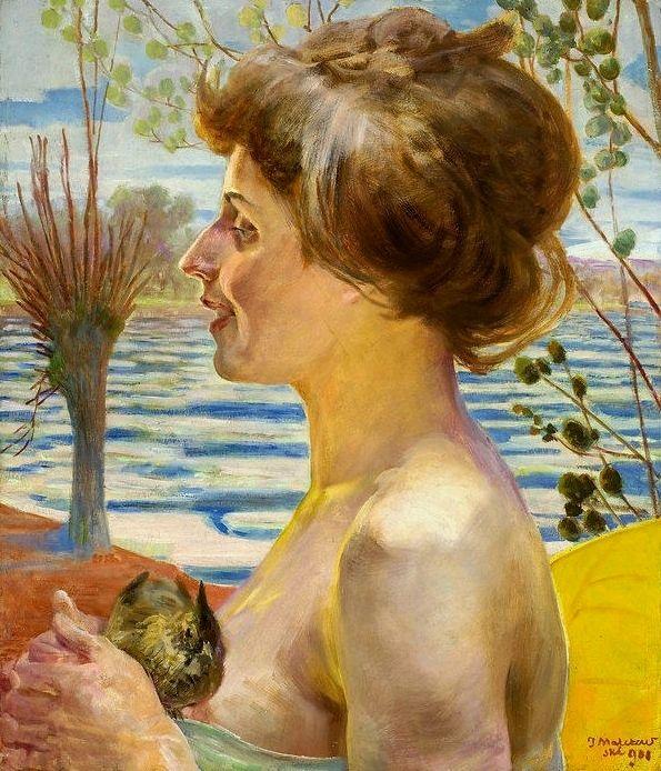 Jacek Malczewski - Spring (1908)