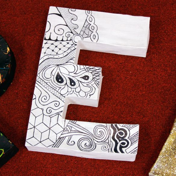 Or, if you want to be fancy pantsy about it, Papier-mâché. I decided to make some 3D letters for my classroom this summer after seeing Mrs. Nights Artroom posted on Pinterest. I went shopping first…