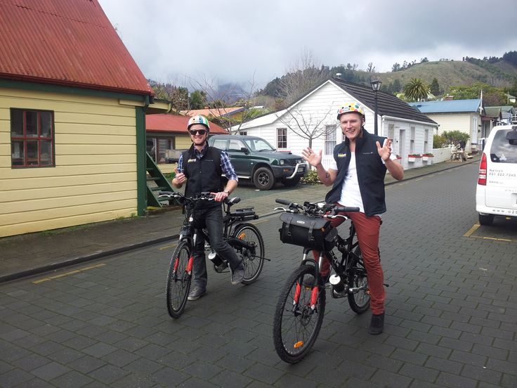 boys from the radio station off for a promo and spin.  @a2becycle.