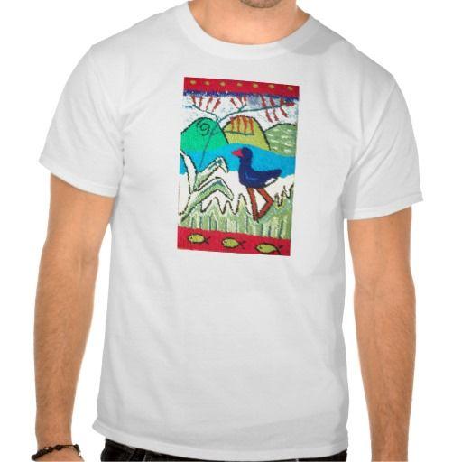 New Zealand pukeko bird Tee Shirt