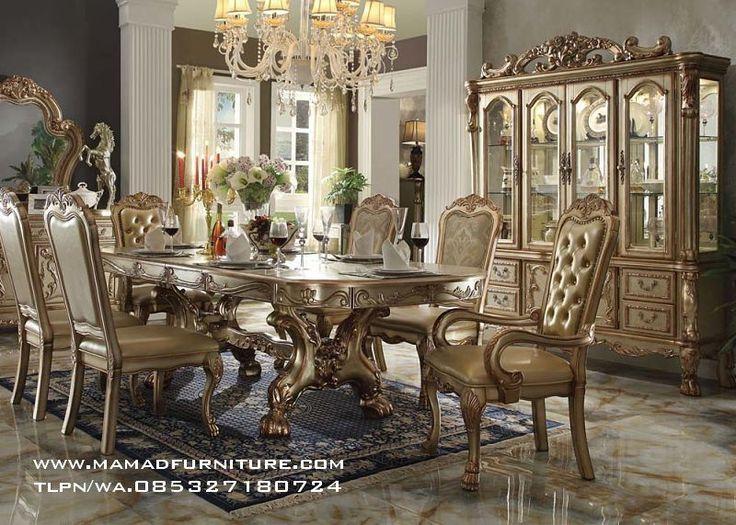 Furniture Jepara Meja Makan Ukiran Mewah Jepara Silver Leaf Meja Makan Ukiran Mewah Jepara Silver LeafAdalah produk meja makan ukir jepara yang berkualitas Terbaik.