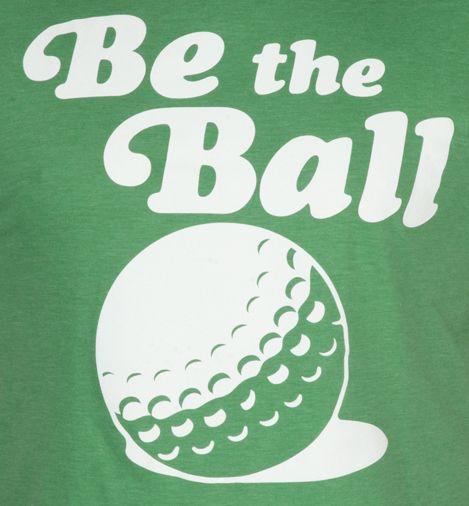 On the ball saying