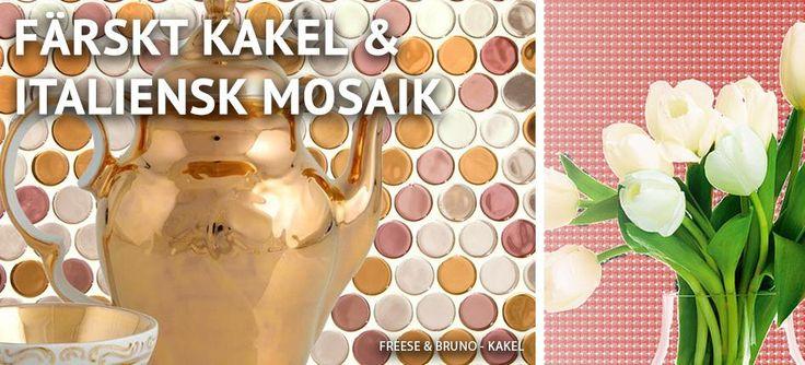 Färsk kakel och Italiensk mosaik