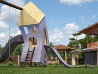 Денви ярд | Тематическая детская игровая площадка - Дом-привидение.S - фото №0