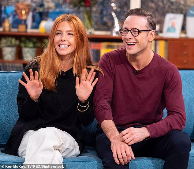 Stacey Dooley Admits She And Kevin Clifton Are Like A Married Couple Stacy Dooley Stacey Ginger Hair