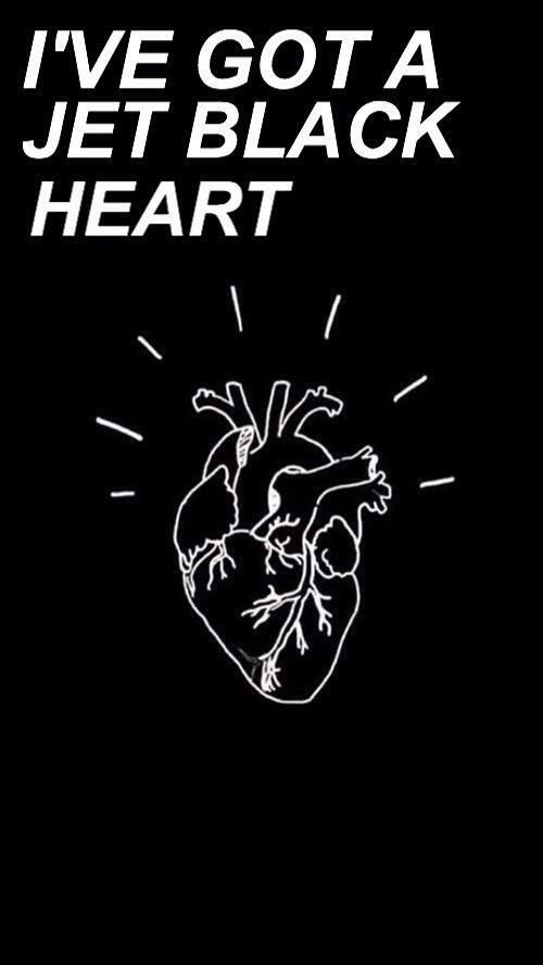 jet black heart // 5sos [via allcapslyrics on twitter]
