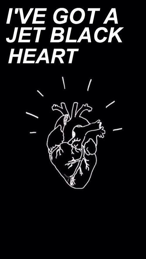 jet black heart // 5sos [via allcapslyrics on twitter]