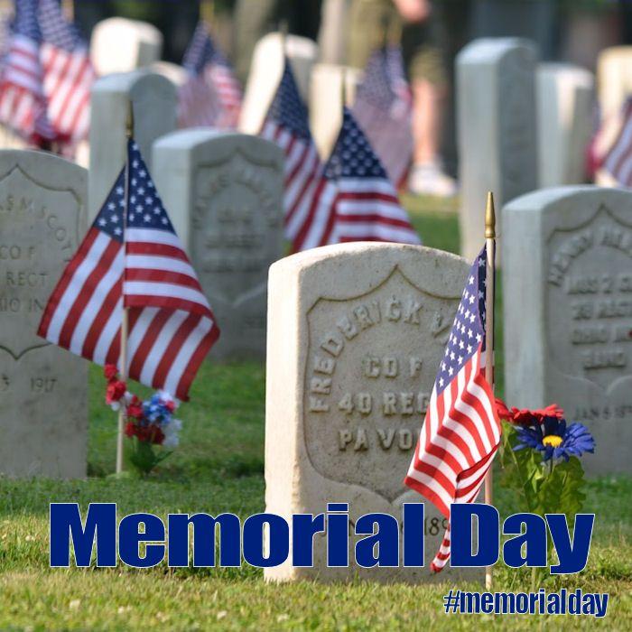 Memorial Day - May 29, 2017