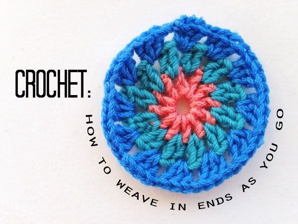 Crocheting And Weaving : 1000+ images about Weaving in the end on Pinterest Weaving, Crochet ...