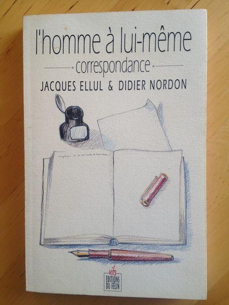#correspondance : L'homme À Lui-Même - Correspondance / J. Ellul - D. Nordon.  Il ne croit pas ce que je crois, je ne crois pas ce qu'il croit... Pourtant, l'oeuvre de Jacques Ellul m'a beaucoup marqué. D'où mon souhait de réfléchir avec lui sur la nature de l'influence exercée par un auteur sur ses lecteurs. Y a-t-il une « bonne façon » de lire? Un lecteur trop scrupuleux, perclus de respect, risque de se muer en épigone conformiste et stérile. Un lecteur trop désinvolte, au contraire,...