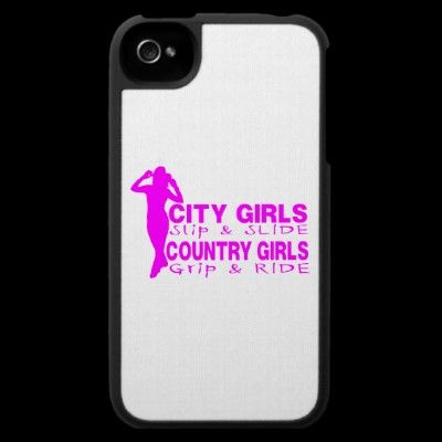 COUNTRY GIRL iPhone 4 CASE
