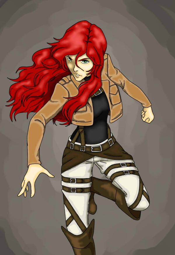 Other edit, this is my attack on titan oc   My Art