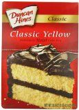 Duncan Hines Moist Deluxe Yellow Cake Mix, 18.25-Ounce Boxes (Pack of 6)