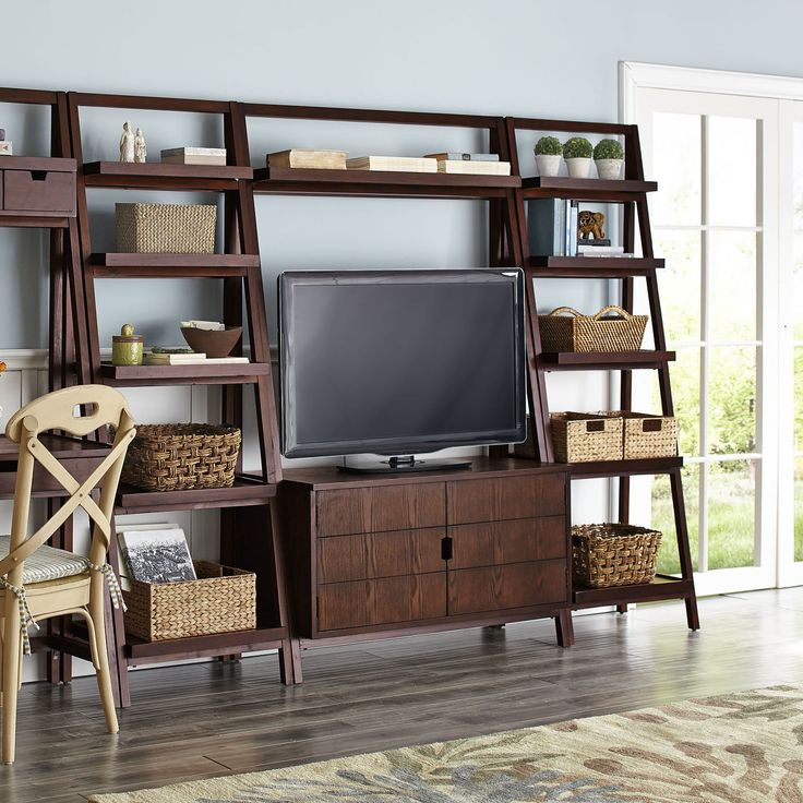 Best 25 tall tv stands ideas on pinterest tall entertainment centers small entertainment for Tall tv stands for living room